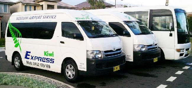 Kiwi Express Shuttle Bus