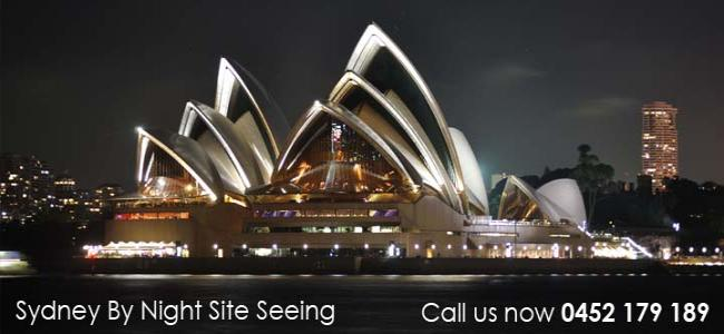 Sydney by night tour